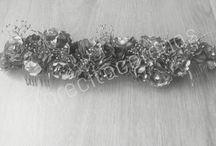 Florecita Coronas / Se realizan coronas, tocados, diademas, canotiers para eventos especiales. Pide el tuyo en florecitacoronas@gmail.com