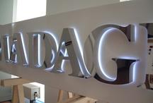 LEDTERS / Letters met LED of juist leuke ideeën voor LED toepassingen