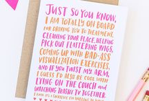Things you should say to cancer survivors / We don't always know what to say, so here's a board filled with all the right things.