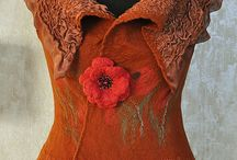 Felted clothing
