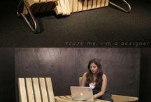 Mobiliario Sostenible / Sillas, sillones, mesas y demás elementos que evidencien la inclusión de atributos ambientales y sociales desde el diseño.