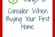 buying a home / by Kimberly Boltin