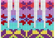аязанные свитера со схемами