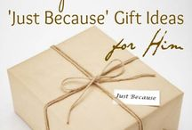 Gifts Idea / Gifts Idea for someone special in several occasions.