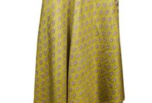 Women's Silk Wrap Skirt
