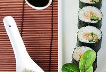 сашими/роллы/суши/кимпаб
