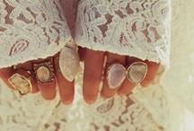 Rings Rings Rings, I love them all!