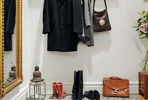 porte manteau vintage / mon entrée