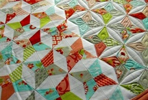 quilting before and after