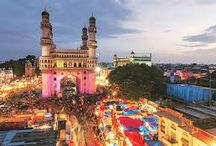 Telangana:Hyderabad / The city of smiles, of lights, of a thousand faces, endearingly called the Pearl City, Telangana Hyderabad offers a variety of tourist attractions ranging from Heritage monuments, Lakes and Parks, Gardens and Resorts, Museums to delectable cuisine and a delightful shopping experience. To the traveller, Hyderabad offers a fascinating panorama of the past, with a richly mixed cultural and historical tradition spanning 400 colourful years. Some of the tourist attractions include.