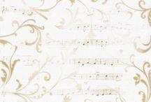 Papier-Fond Musique