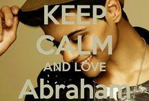 <3 Keep calm: Abraham Mateo <3 / Este tablero lo he creado para tener todos los Keep calms de Abraham Mateo :)
