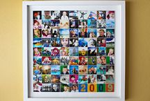 Picture frame collages