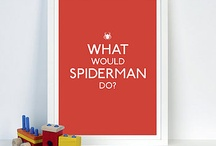 B-MAN LOVES SPIDEY / by Jennifer Peterson Hagemeier