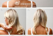 Hairstyles/inspo