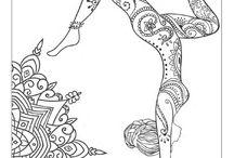 Yoga desenho
