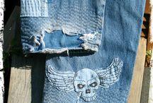 Patchwork jeans rasgos sobrepor bordar cortar jaquetas casacos Blazers