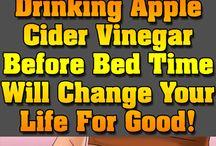 apple cider vinegar - YES