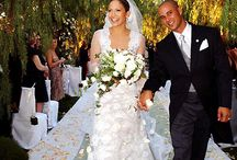 Celebrity Wedding Gowns / Celebrities and their wedding gowns.