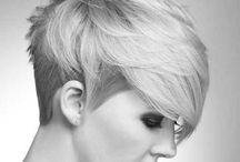 Want that Short Hair / Hairstyles I love and wish I could get away with! All about the short-hair look.