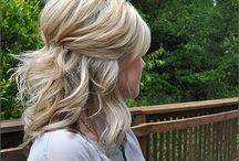 Bridesmaid hair / by Michelle Sparkes