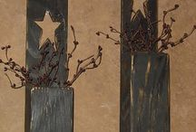 Primitive decorations / by Nancy Michaud