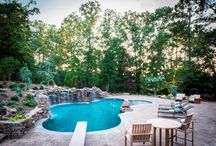 Gunite and Luxury Pools in Little Rock, AR / Check out our portfolio of luxury pools we have done throughout Little Rock!