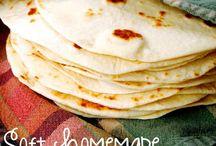 Bread Rolls Tortilla Recipes