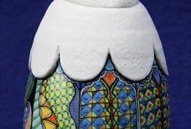 clay, pottery, ceramics, porcelain, stoneware / by Alessandrina
