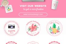 logo bee the oasis - brand id