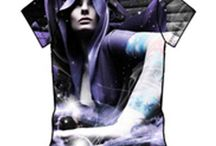 3D tshirt Wholesaler / Are you in need of placing bulk order on wholesale Cosmo power purple print sublimation 3D shirt from a top-rated manufacturer and supplier ? Check out Oasis Sublimation!