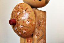 wood dolls painted / wood dolls painted