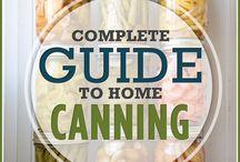Canning / by Teresa Sittner-Kinnison