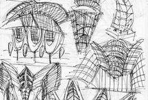 Santiago Calatrava's Sketches