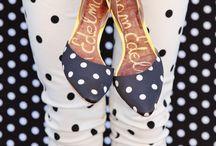 We love: Spots and Dots! / We make lots of polka dot dolls at Ruby Ruth!