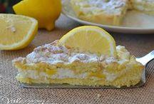Sbriciolata di ricotta e limone