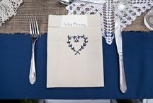 Escort and Place cards