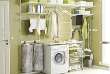 Laundry Storage Solutions / The ultimate laundry systems.