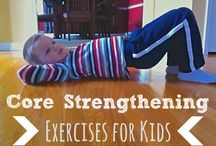 Preschool.....Core strengthening
