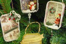 Tin decorations / Altered tins
