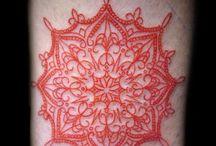 Red tattoo