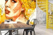 PEOPLE - Murals - Fototapety