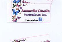 Creazioni - Cartellini personalizzabili / by Annarella Gioielli