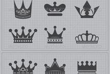 taç kral kraliçe