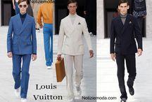 Louis Vuitton uomo / Louis Vuitton collezione e catalogo primavera estate e autunno inverno abiti abbigliamento accessori scarpe borse sfilata uomo.