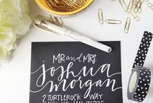 Calligraphy / by McKenzie Kennedy