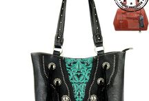 Trinity Ranch Handbag by Montana West / Western Style Handbag with Concealed Handgun Pocket, Totally Western!
