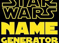 Star Wars name creator