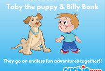 The Adventures of Billy Bonk and Toby the Puppy! / Billy Bonk and his best friend Toby the puppy are always up to crazy adventures. Some of which definitely end in some needed children's hot and cold packs provided by helpful Toby the Puppy. Check out what they're up to!
