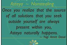 Asteya - Nonstealing